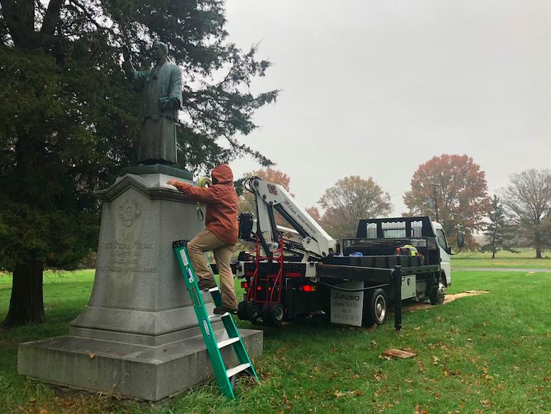 First Catholic Slovak Union Statue Middletown, Pennsylvania