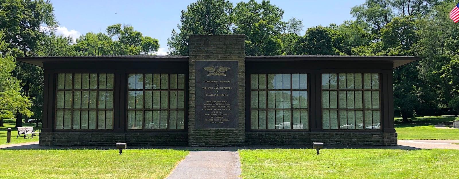 World War II Memorial - Cleveland Heights